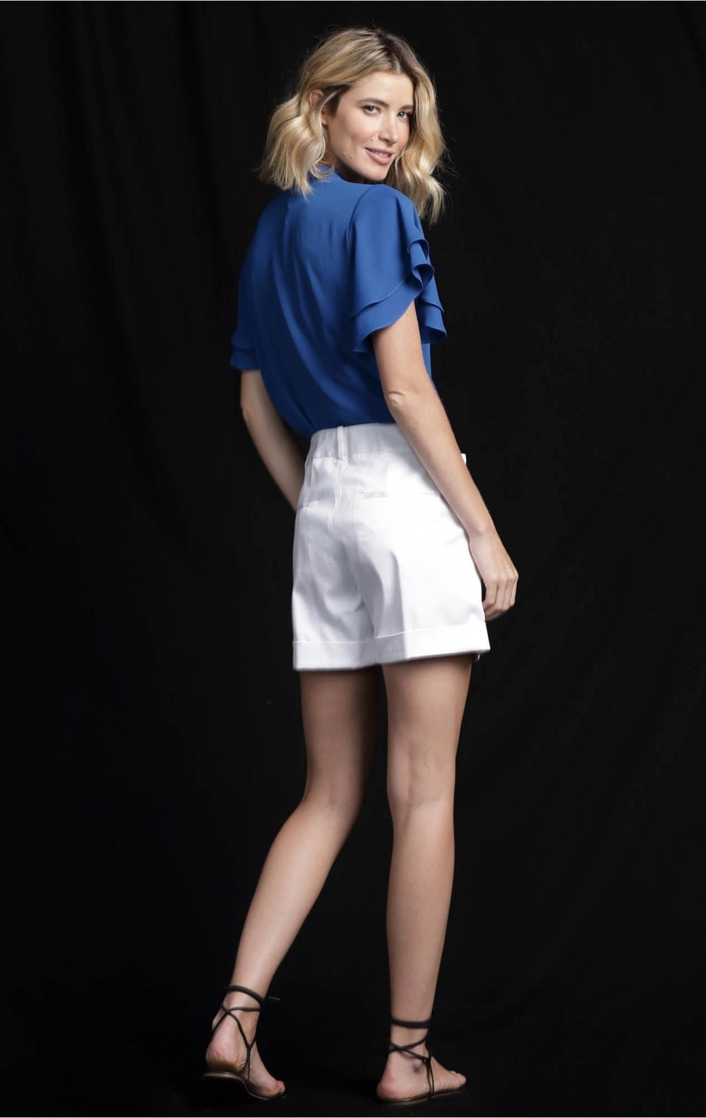 Shorts Simone Branco  - Foto 3