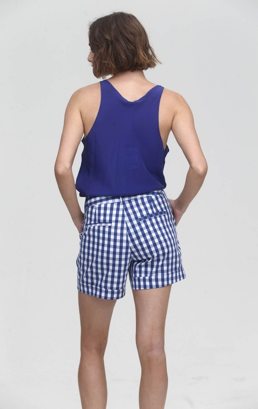 Shorts Xadrez Simone Marinho  - Foto 3