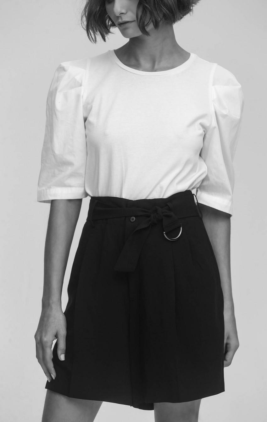 T-Shirt Algodão Branca  - Foto 2