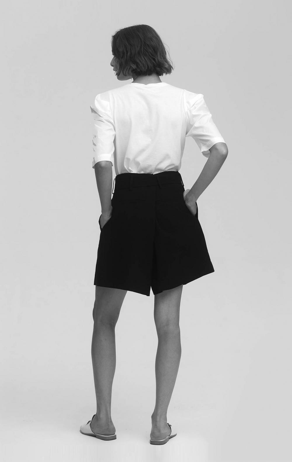 T-Shirt Algodão Branca  - Foto 3