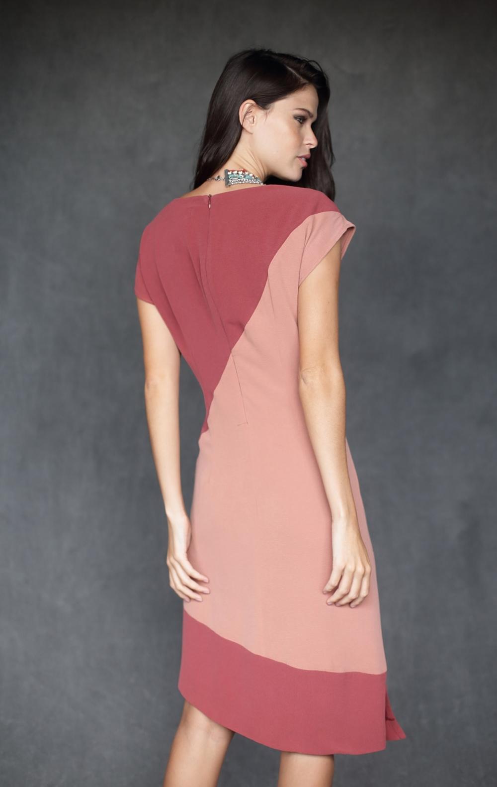Vestido Claudel Rosa  - Foto 2
