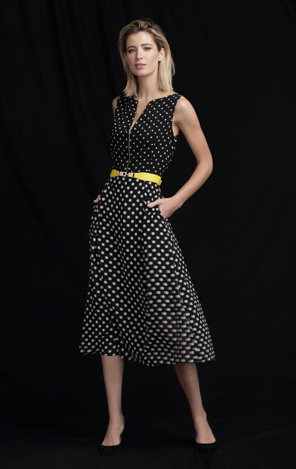 Vestido Georgette Joana Poá - Foto 3