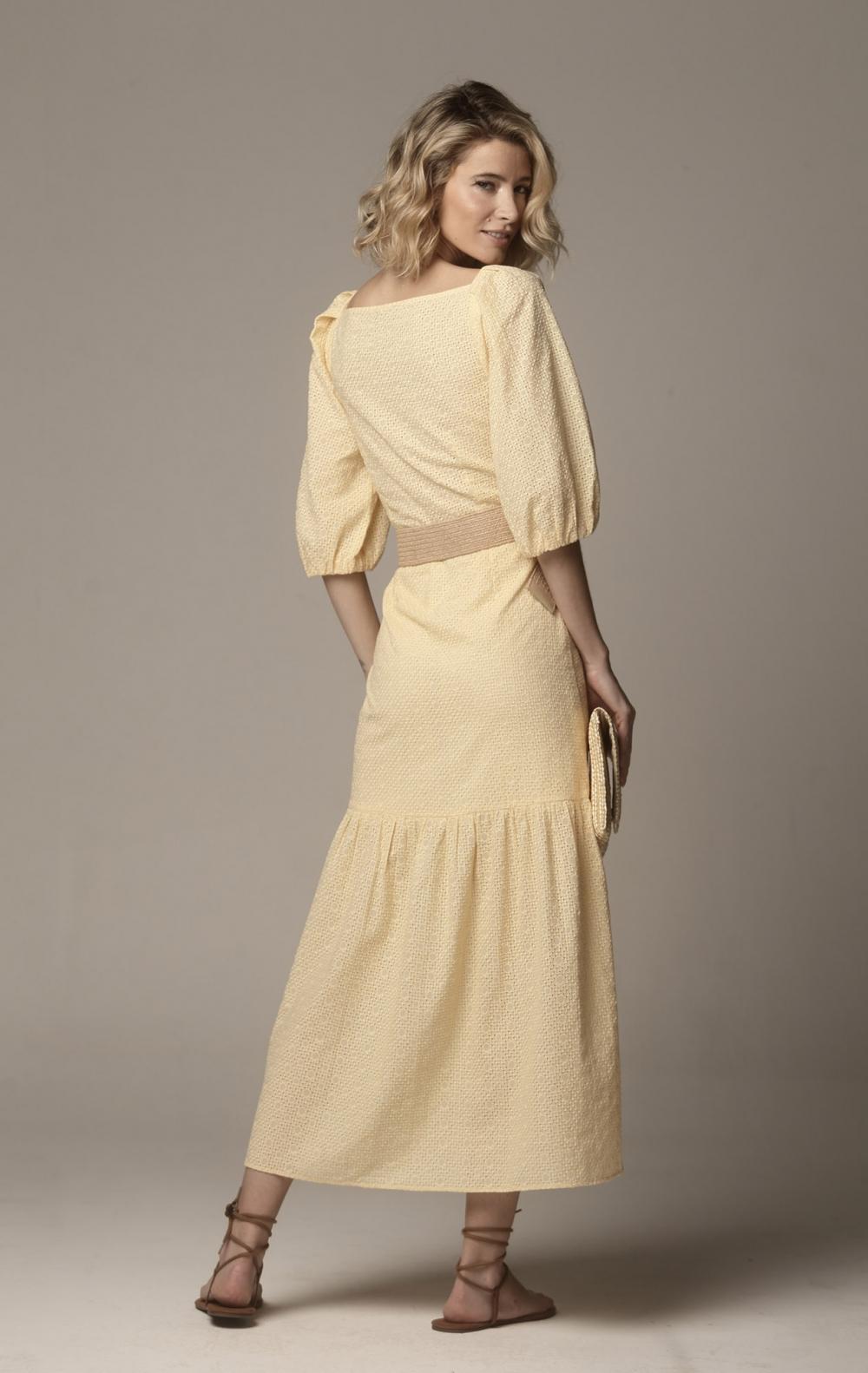 Vestido Kelly Manteiga - Foto 2
