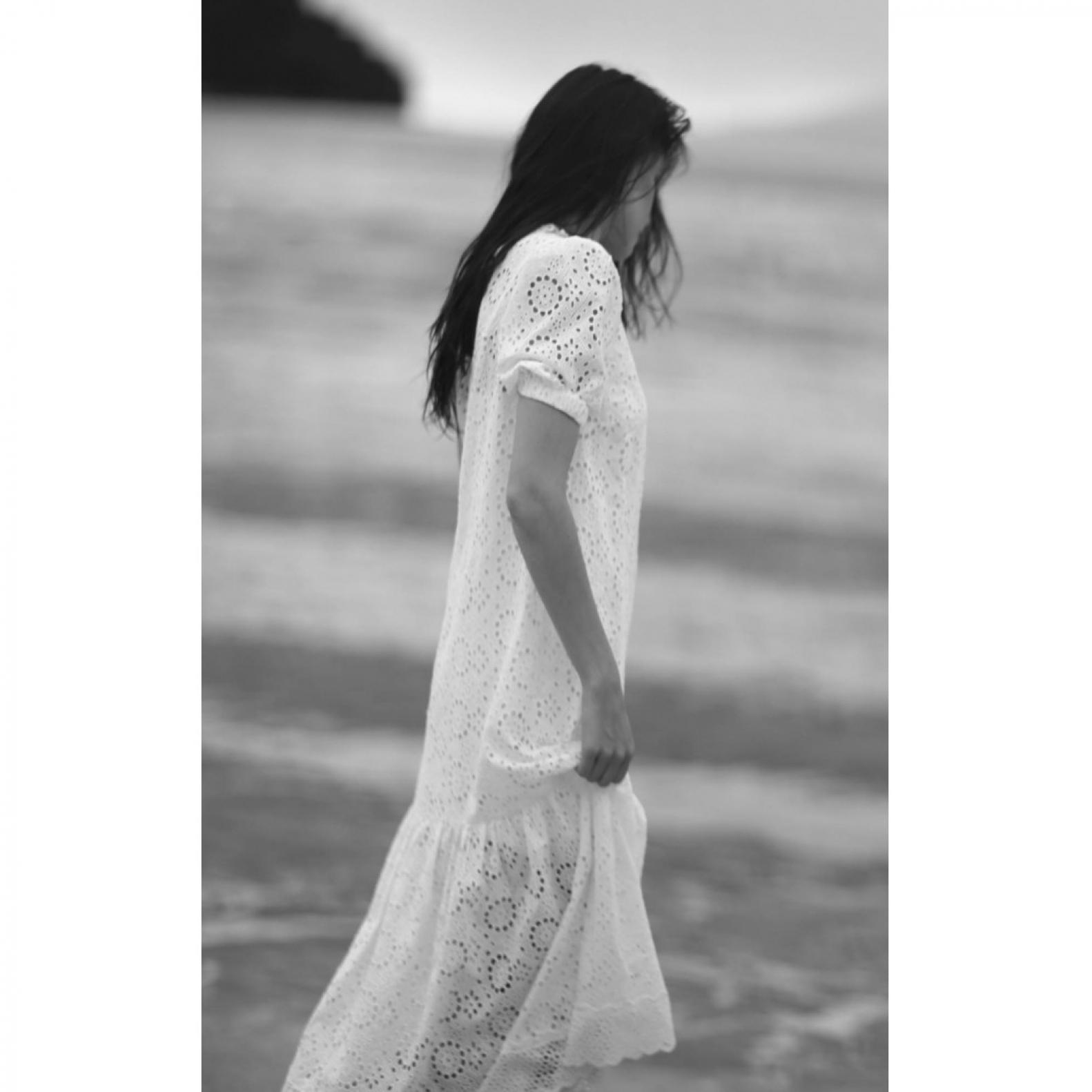 Vestido Laise Branco - Foto 2