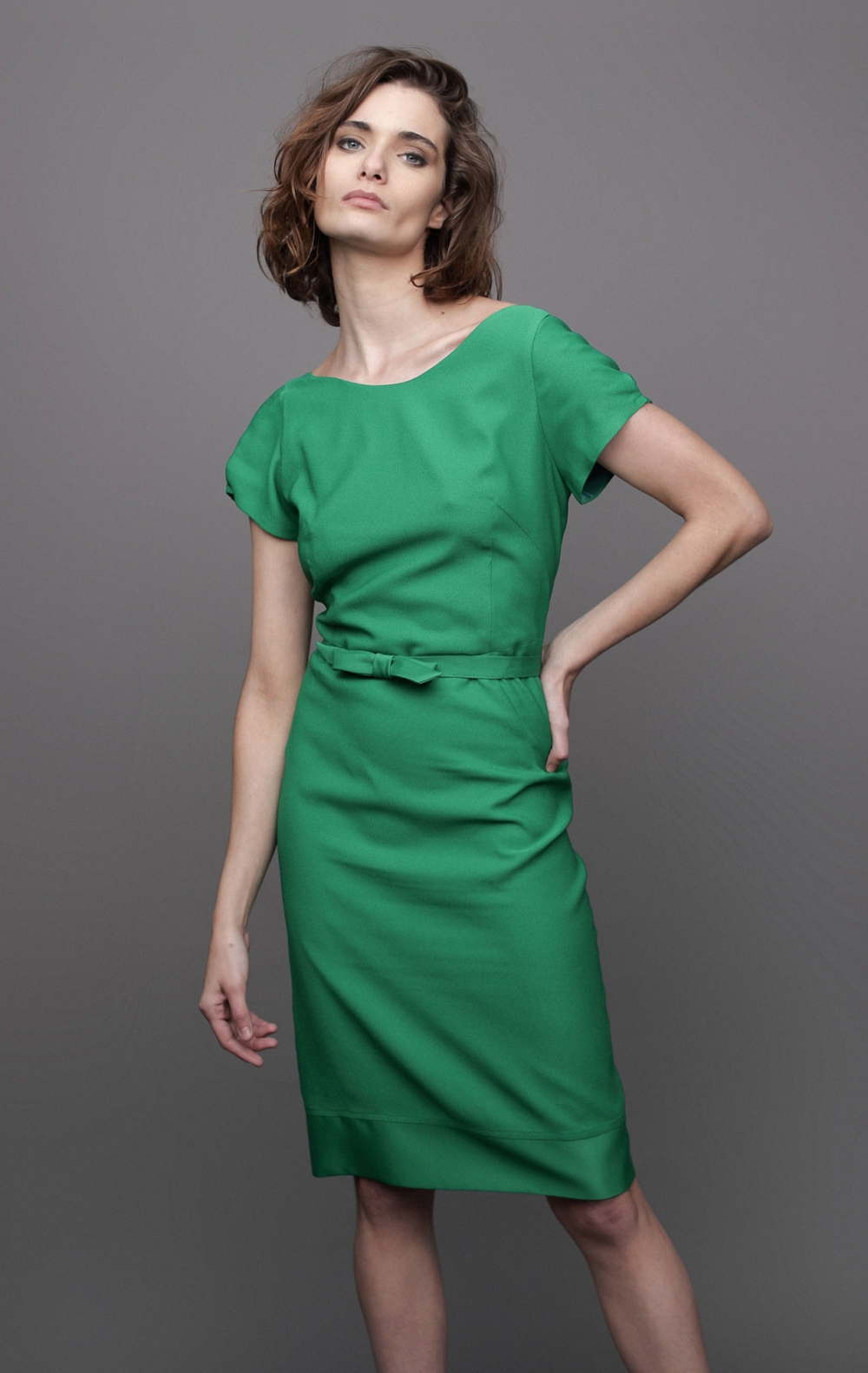 Vestido Leonard Verde - Foto 1
