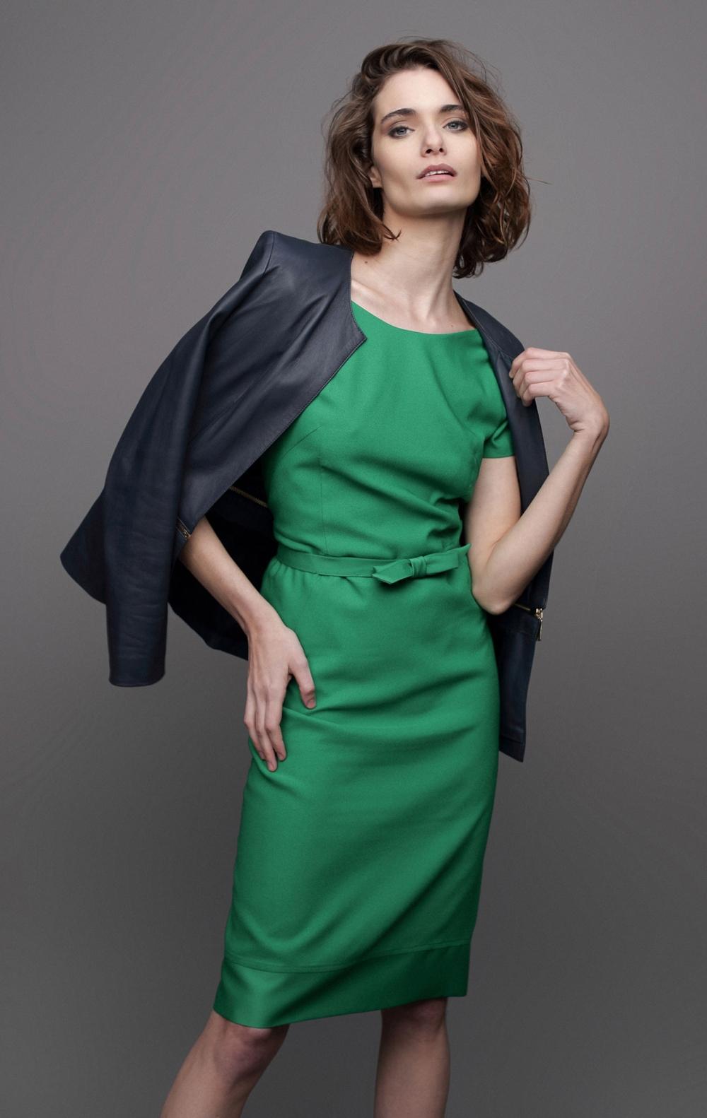 Vestido Leonard Verde - Foto 2