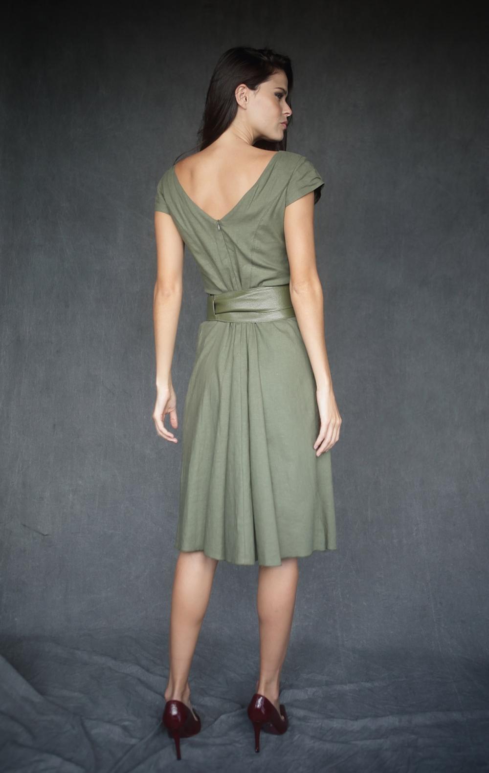 Vestido Lille Verde  - Foto 2