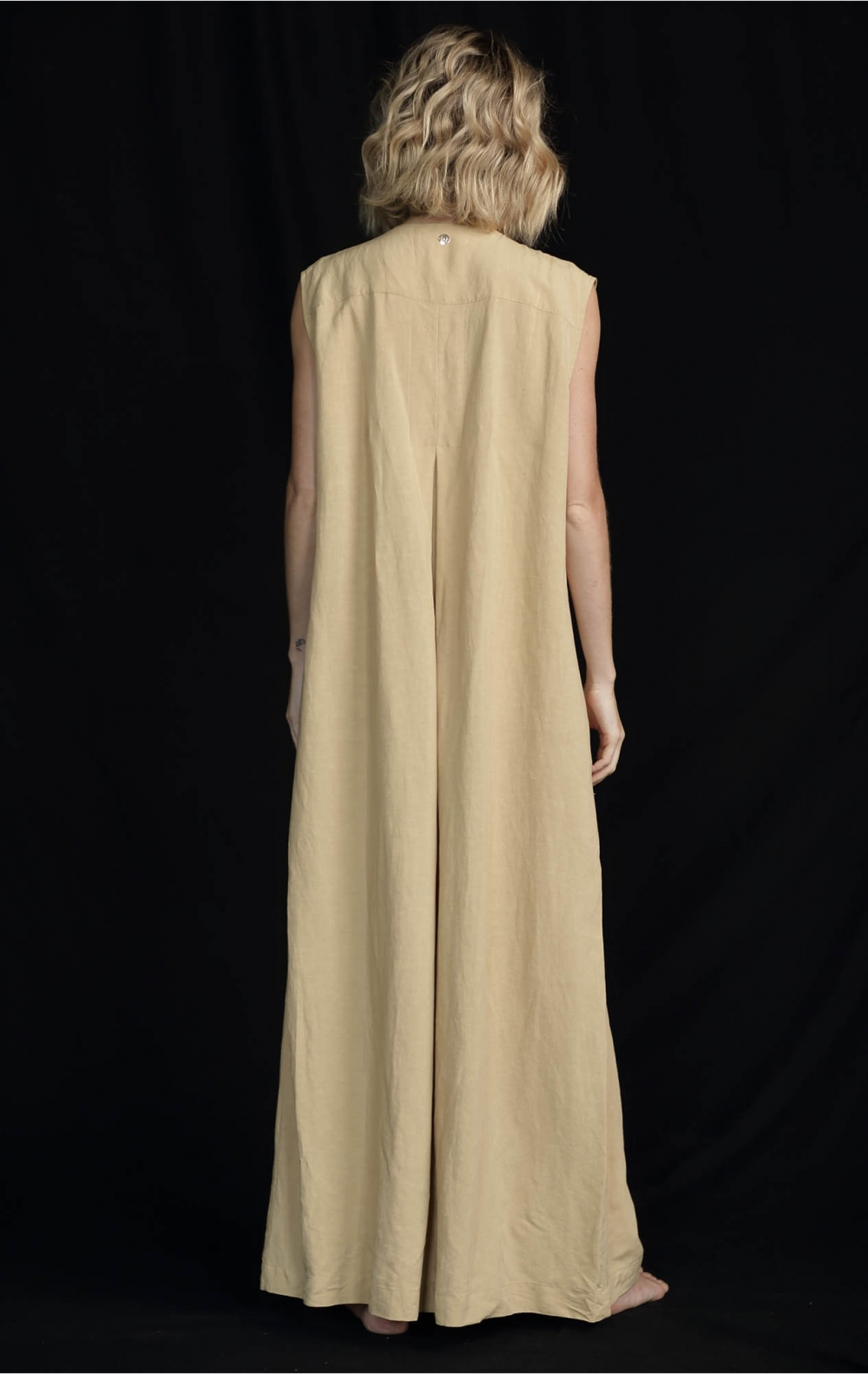 Vestido Liocel Agata Bege   - Foto 3