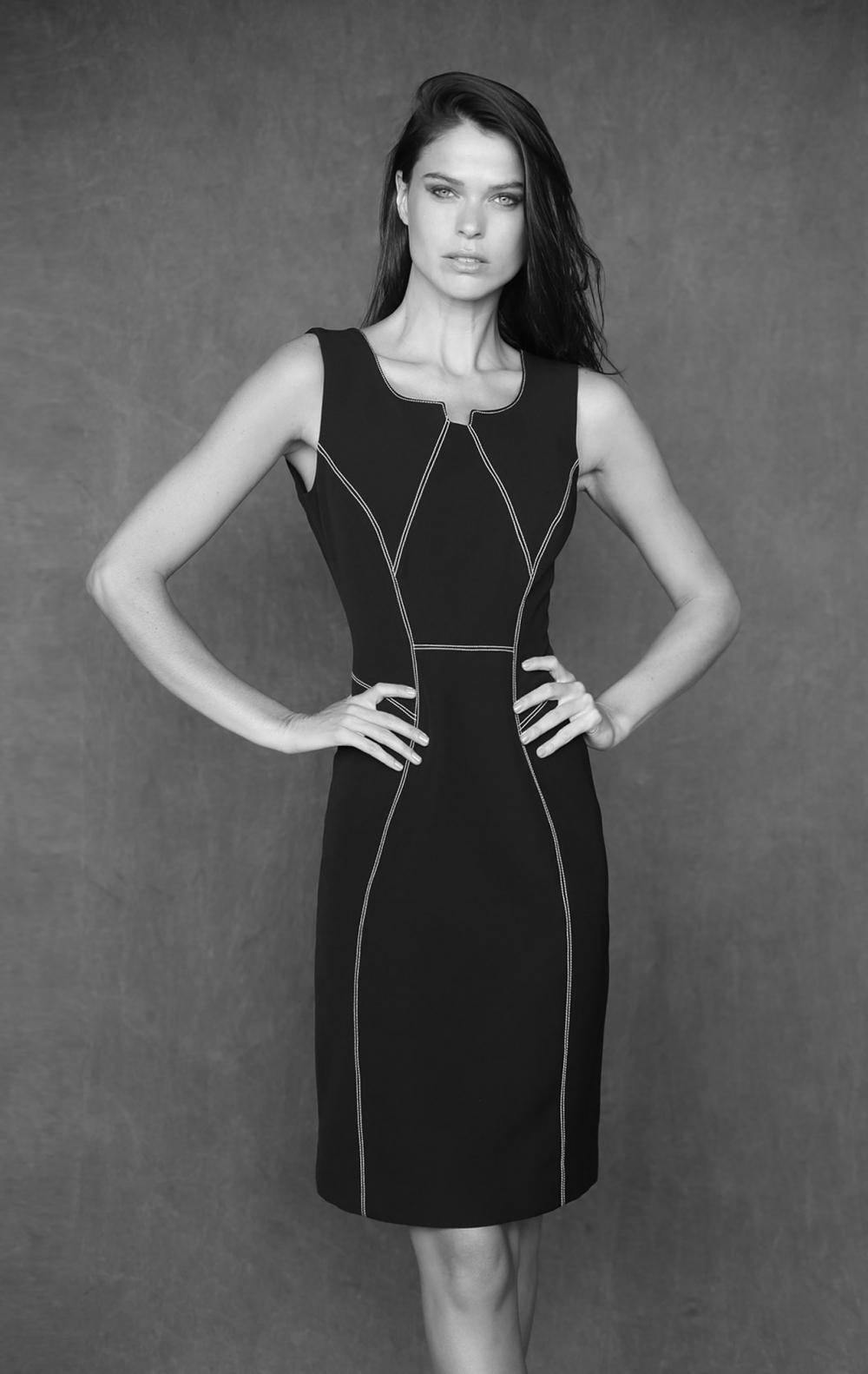 Vestido Lisa Preto  - Foto 1