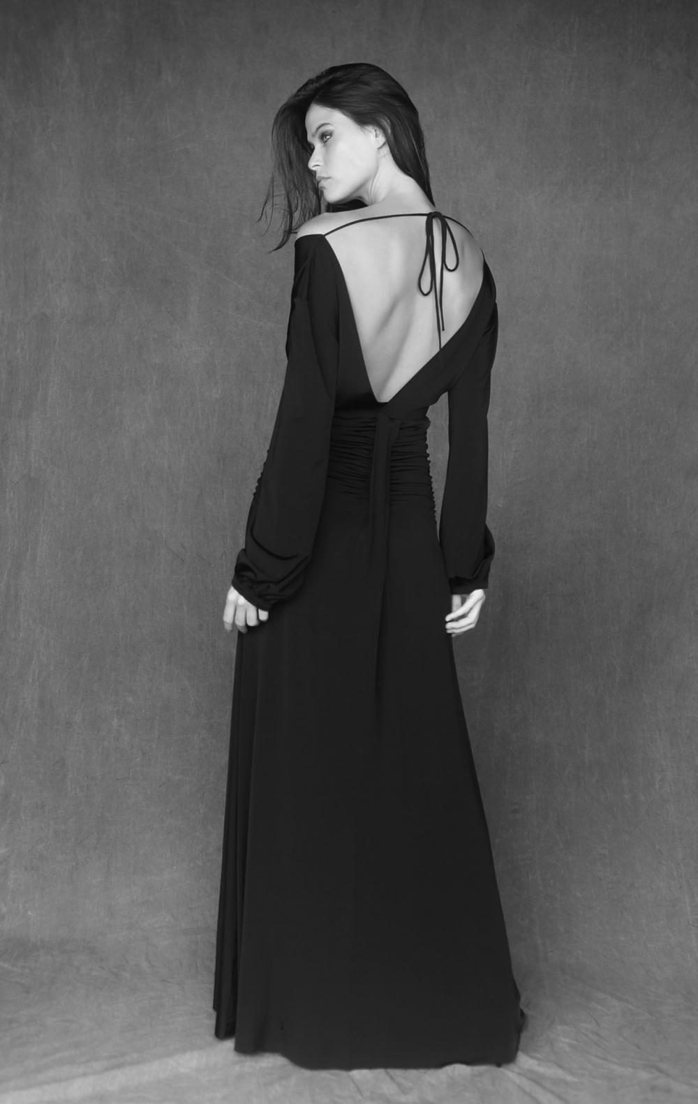 Vestido Longo Drapeado Longo  - Foto 2