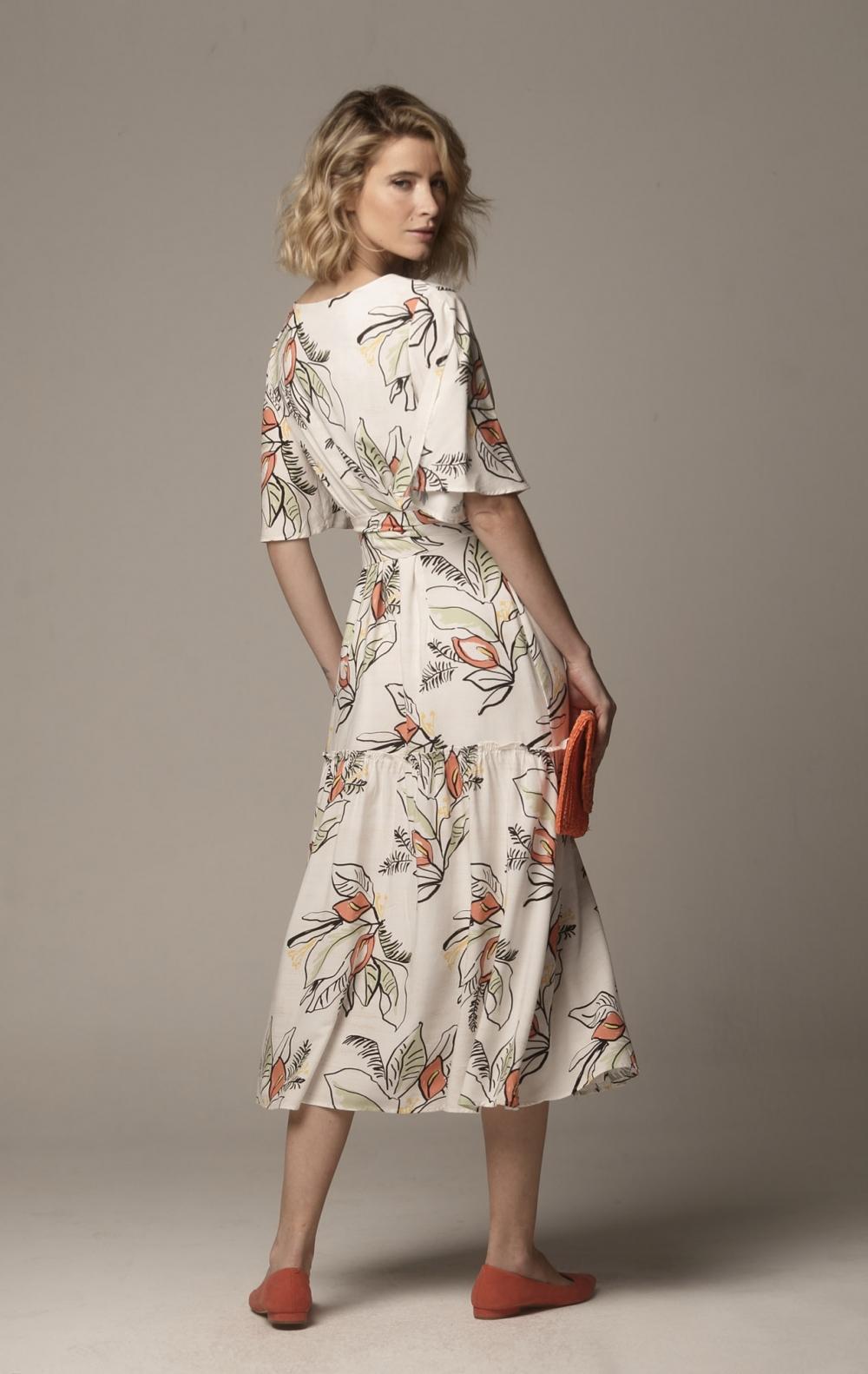 Vestido Luci Cachecouer Off White - Foto 2