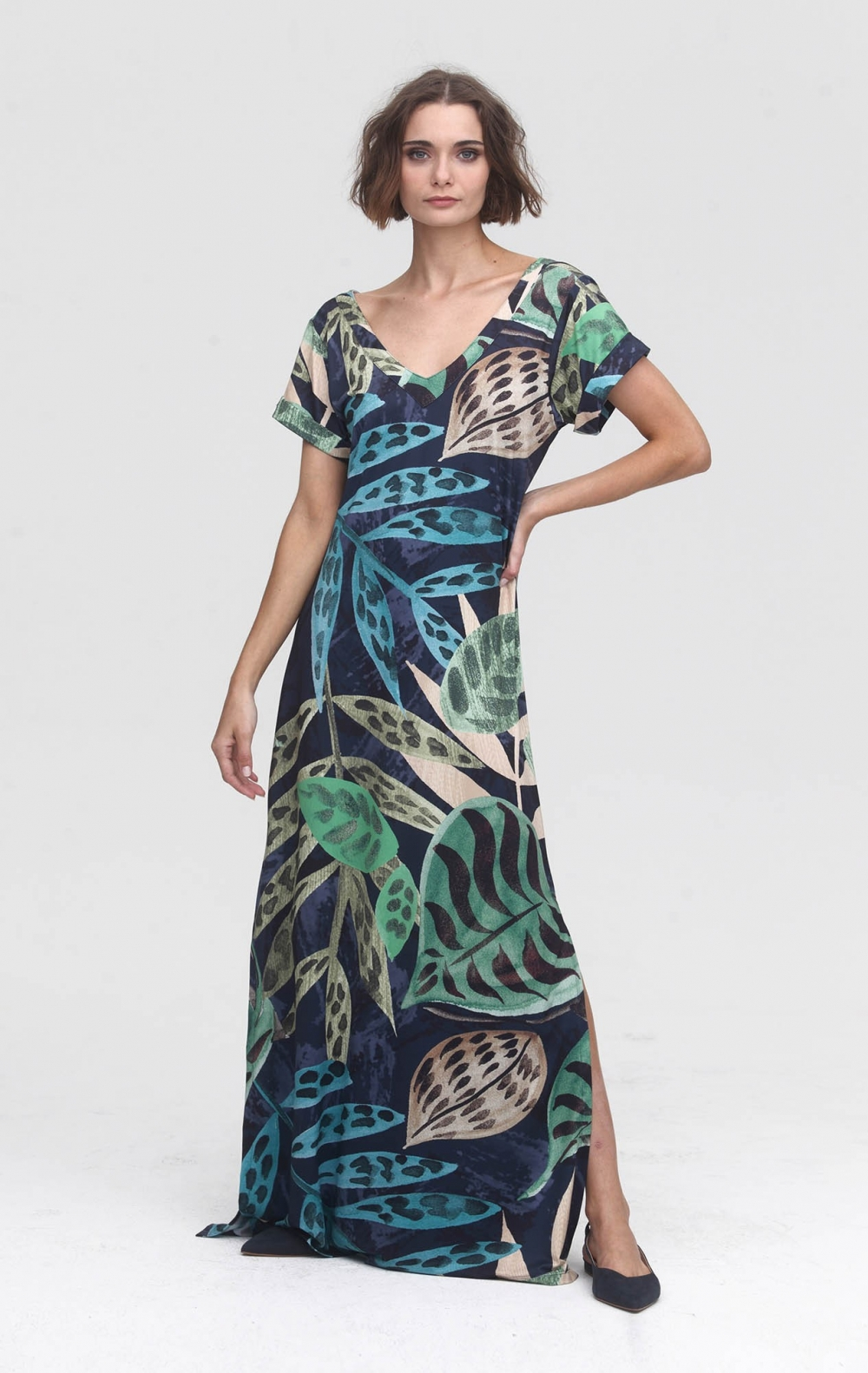 Vestido Malha Carla Estampado  - Foto 1