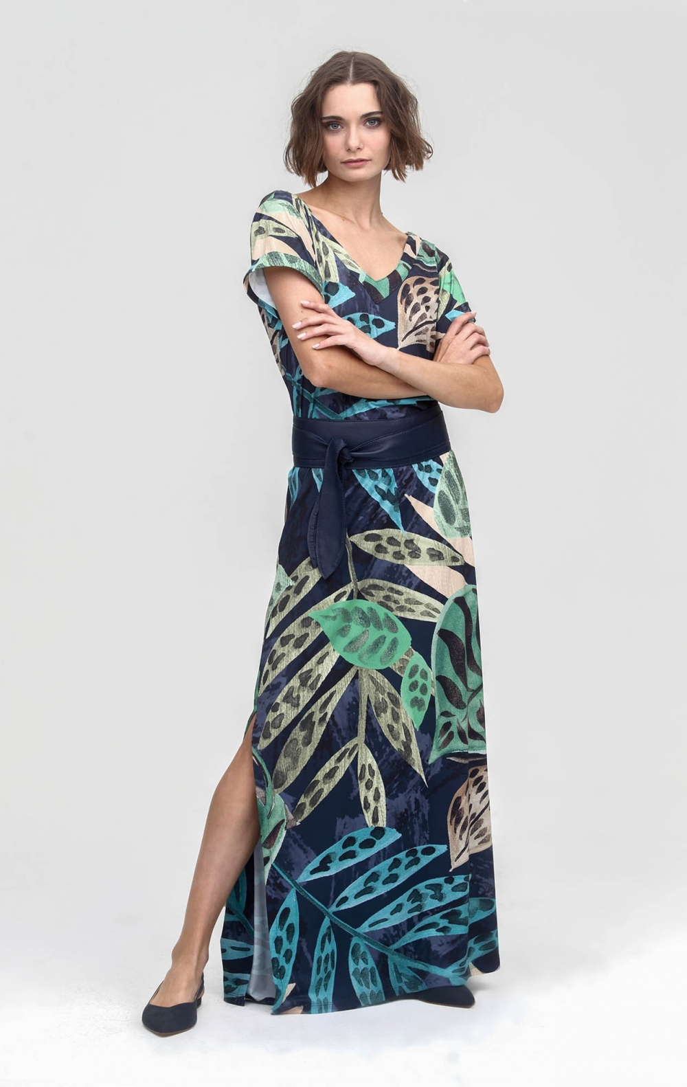 Vestido Malha Carla Estampado  - Foto 2