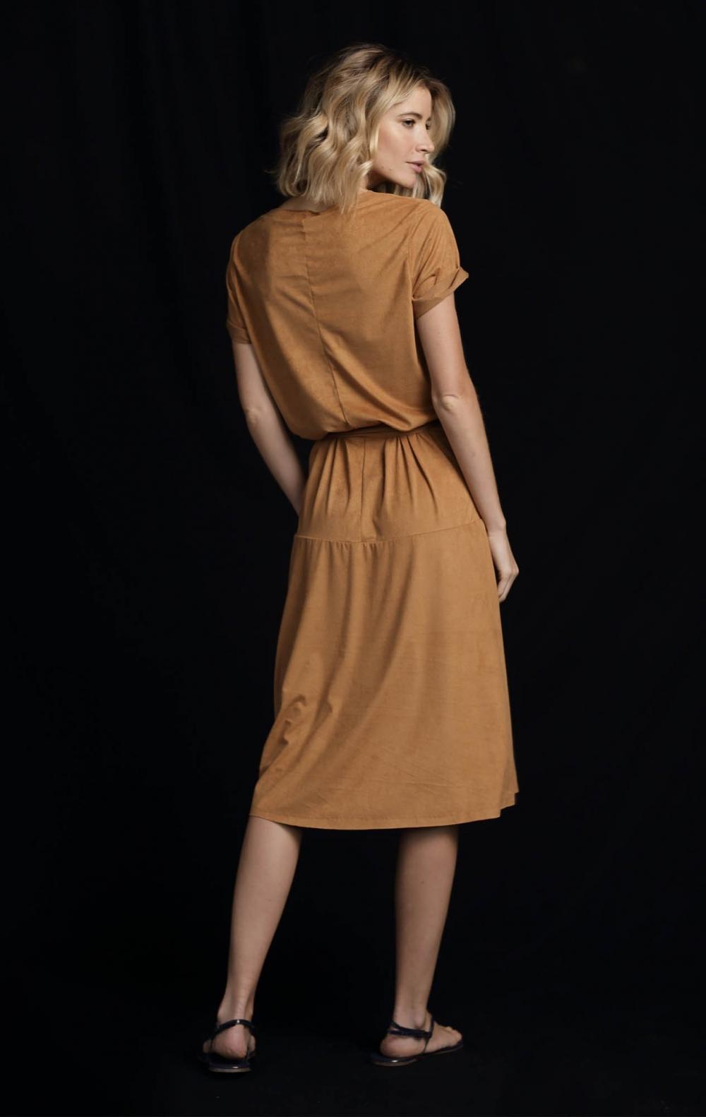 Vestido Suede Midi  - Foto 2