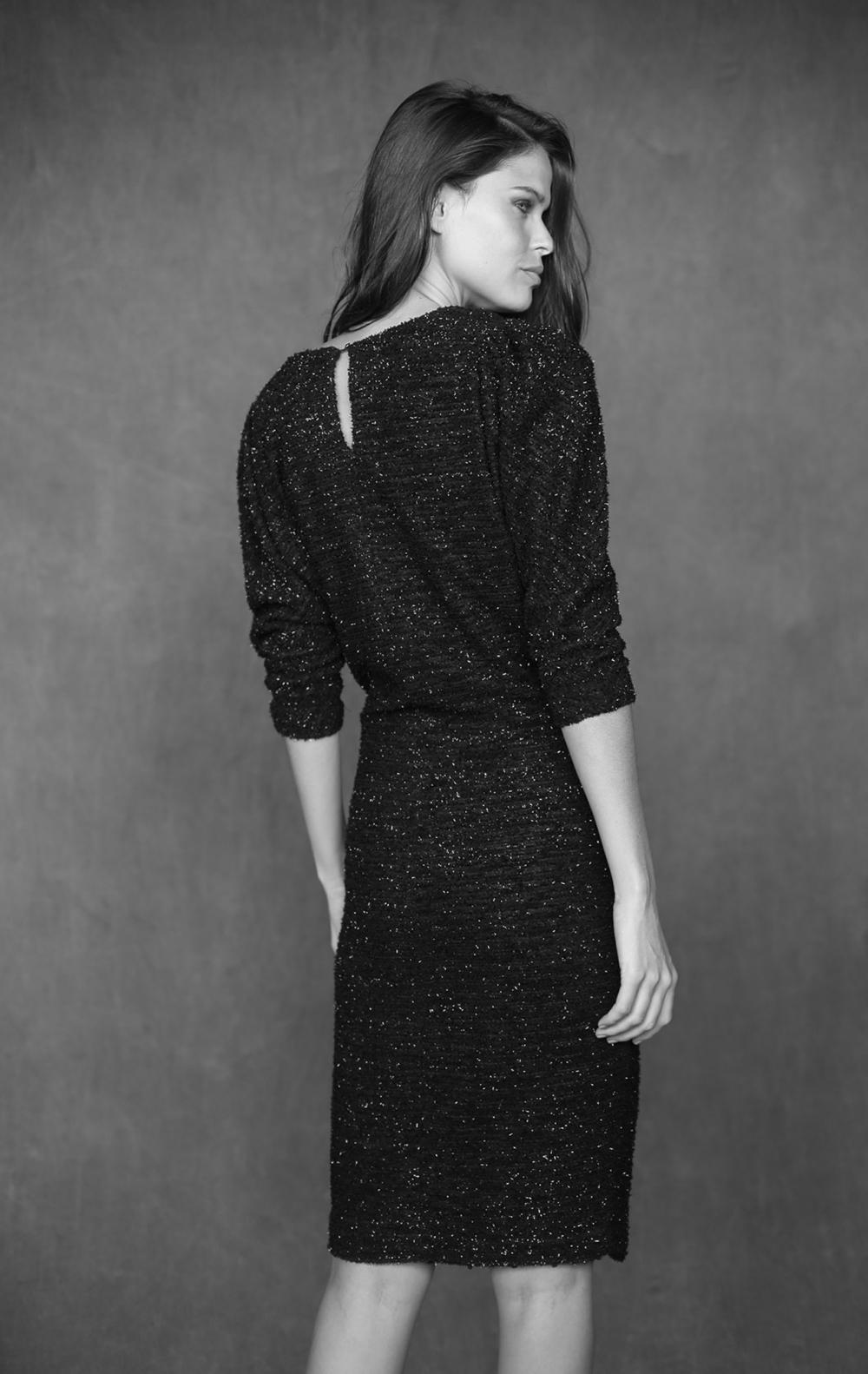 Vestido Tweed Preto  - Foto 2