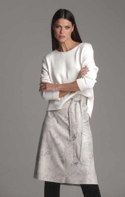 Blusa Tricot Tania Off White