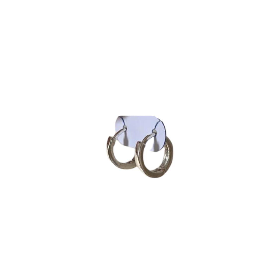 Brinco mini argola - Prata 925