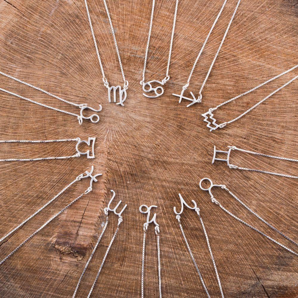 Colar símbolo Signos - Prata 925