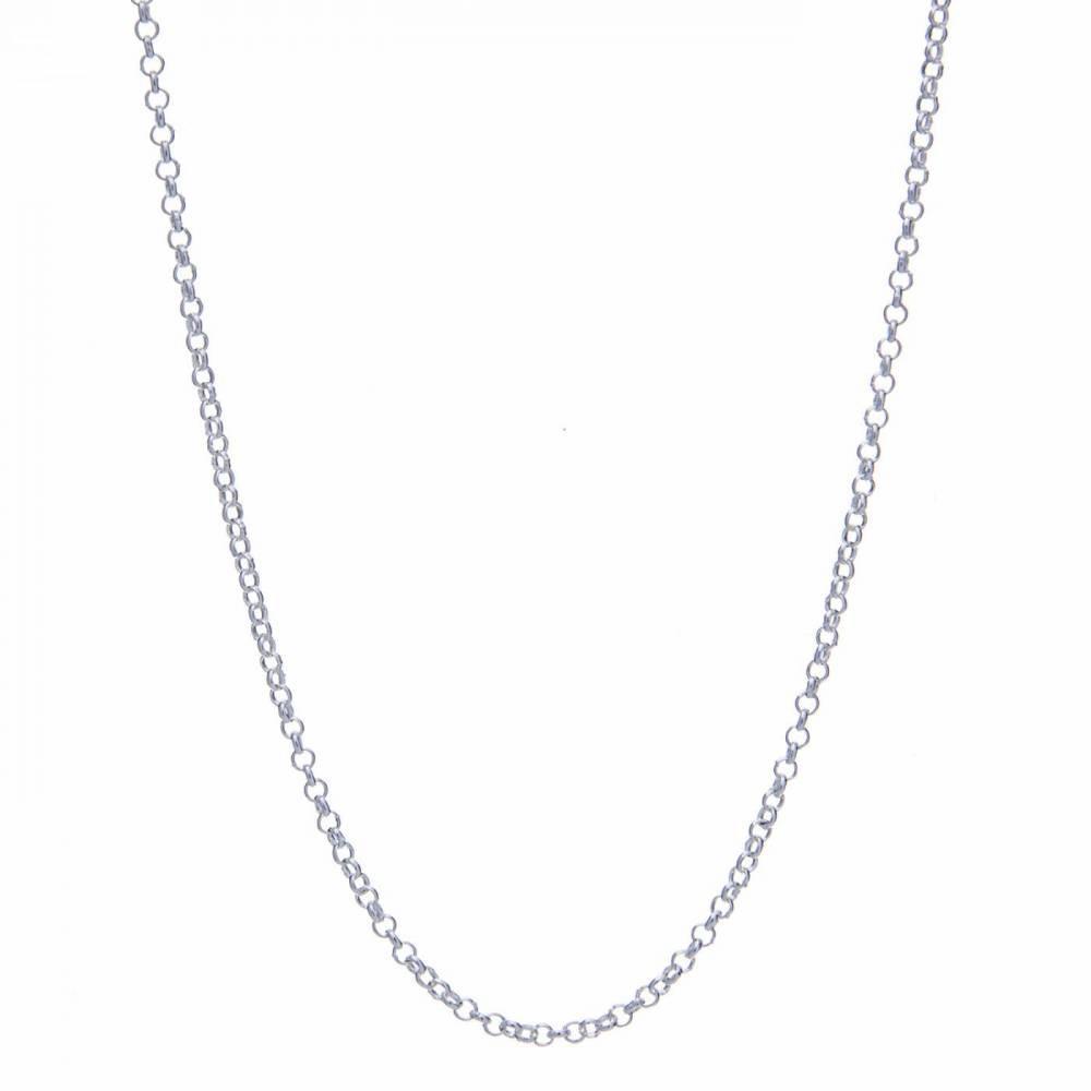 Corrente Elo Portuguesa - Prata 925 - ver tamanhos