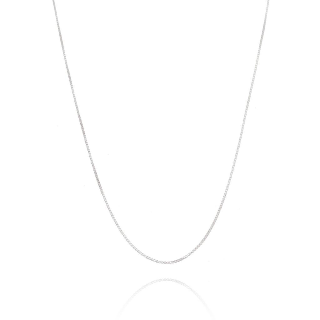 Corrente Veneziana (Fina v2) - Prata 925 - ver tamanhos
