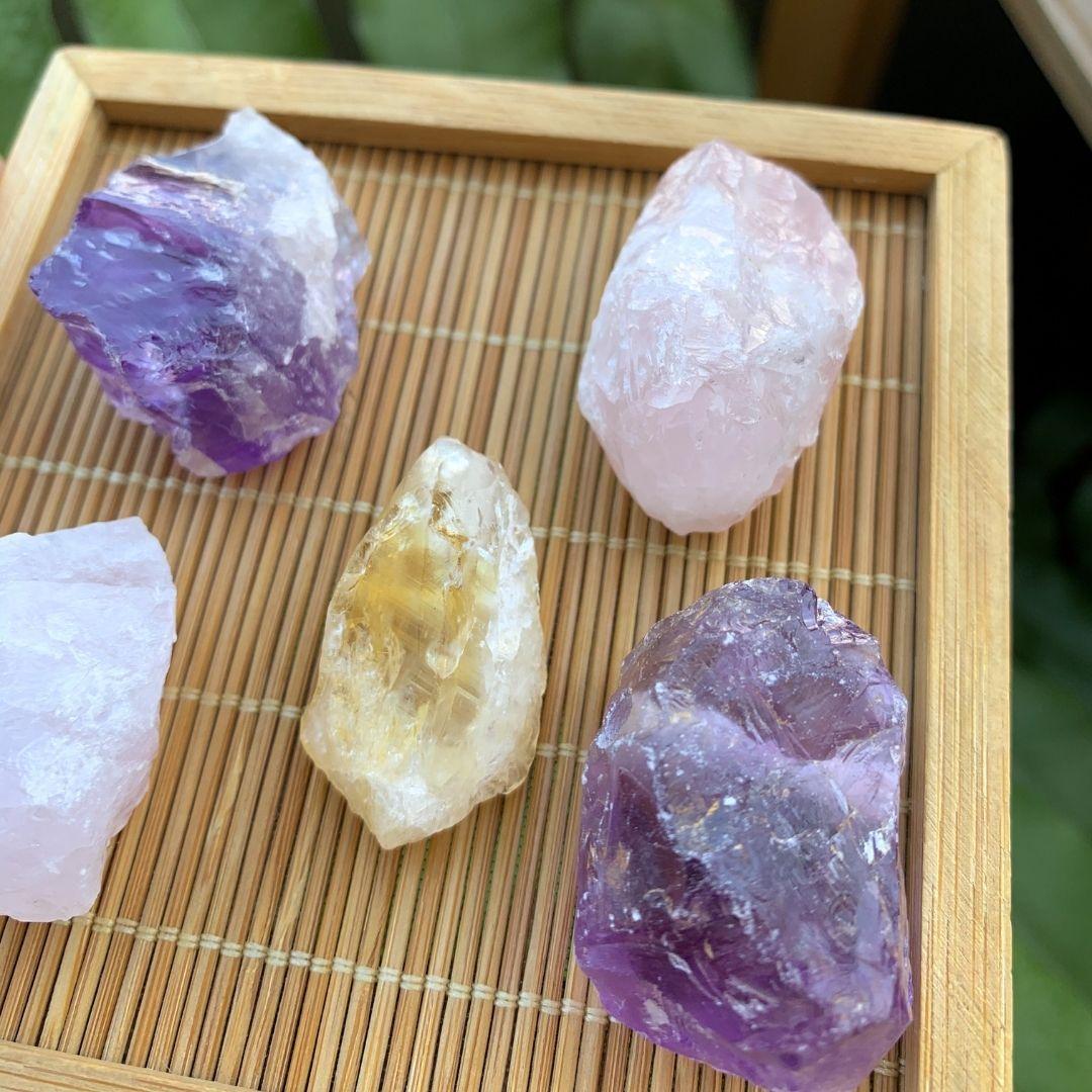 Pingente Difusor Pedra Natural Bruta