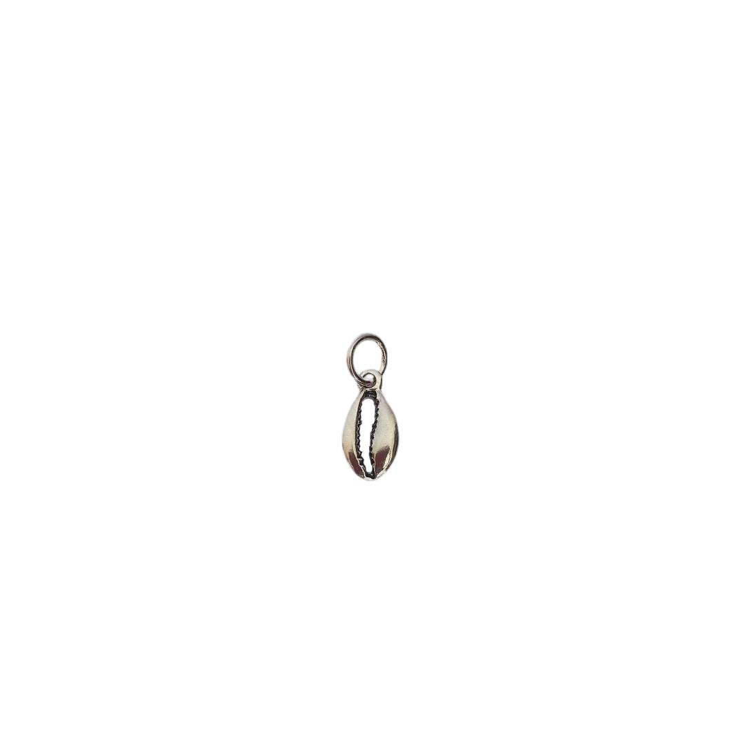 Pingente mini búzio - Prata 925