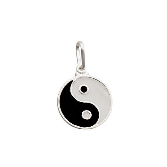 Pingente Yin-Yang - Prata 990