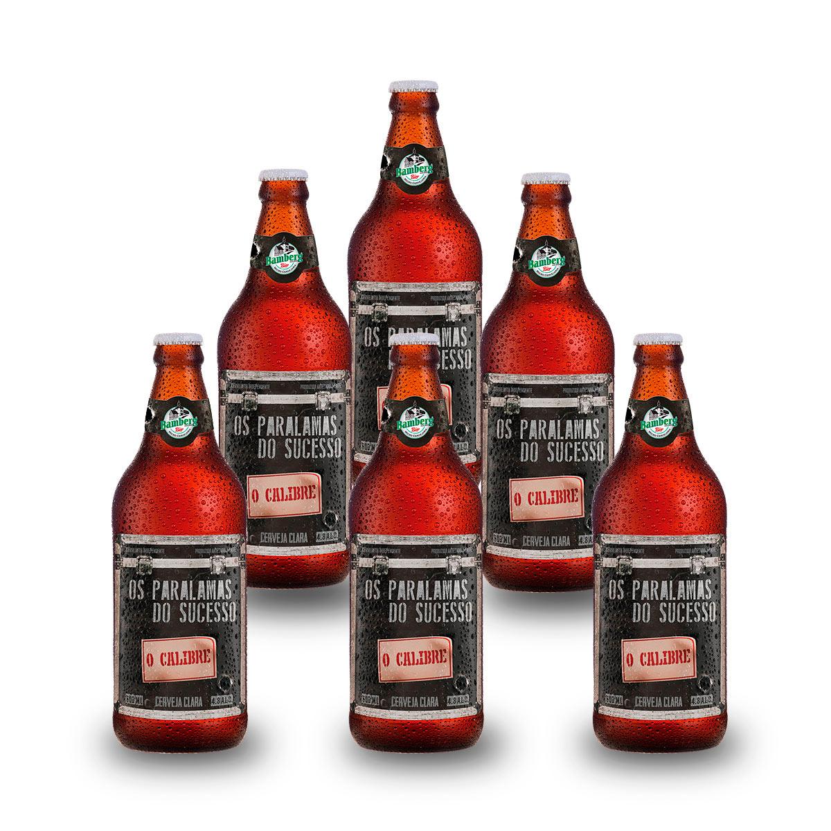 06 unidades - Cerveja Bamberg O Calibre 600 ml
