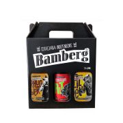 Kit B:  03 garrafas 600 ml