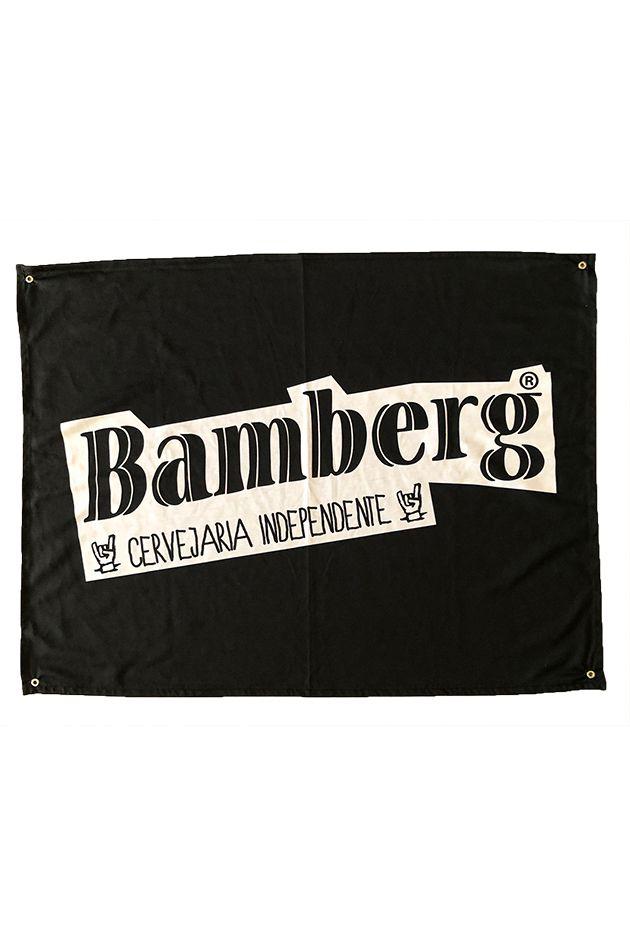 Bandeira Bamberg em tecido