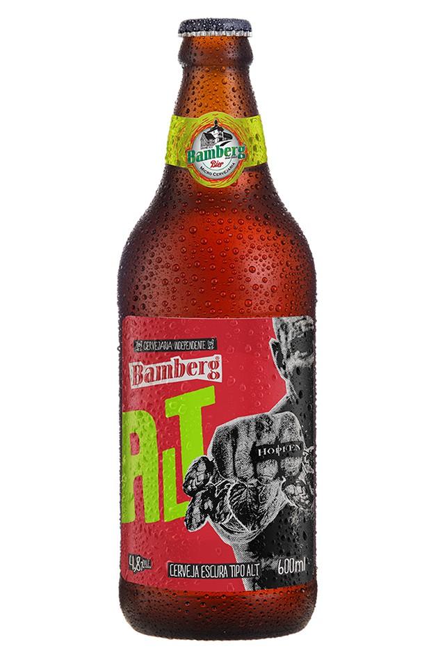 06 unidades - Cerveja Bamberg Alt 600 ml