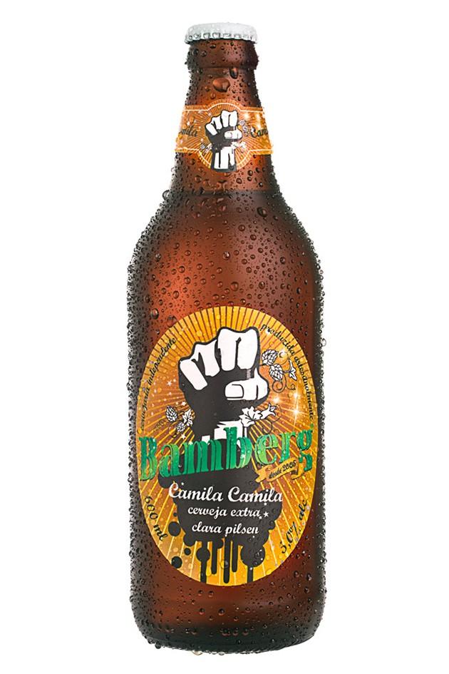 06 unidades - Cerveja Bamberg Camila Camila 600 ml