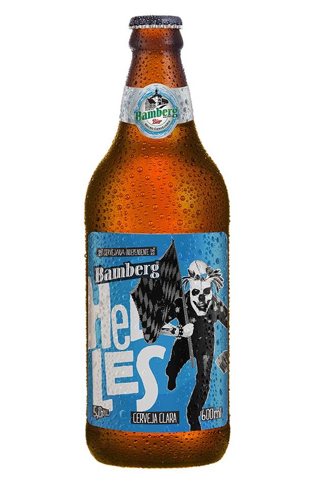 06 unidades - Cerveja Bamberg Helles 600 ml
