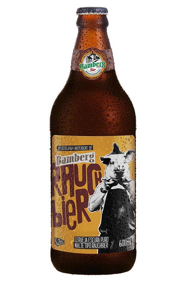 06 unidades - Cerveja Bamberg Rauchbier 600 ml