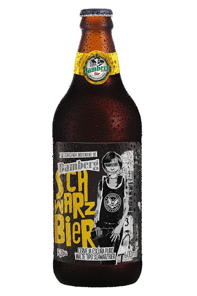 06 unidades - Cerveja Bamberg Schwarzbier 600 ml