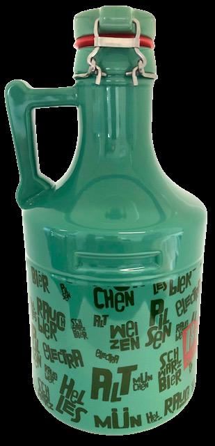 Growler de Cerâmica - 2,0 Litros