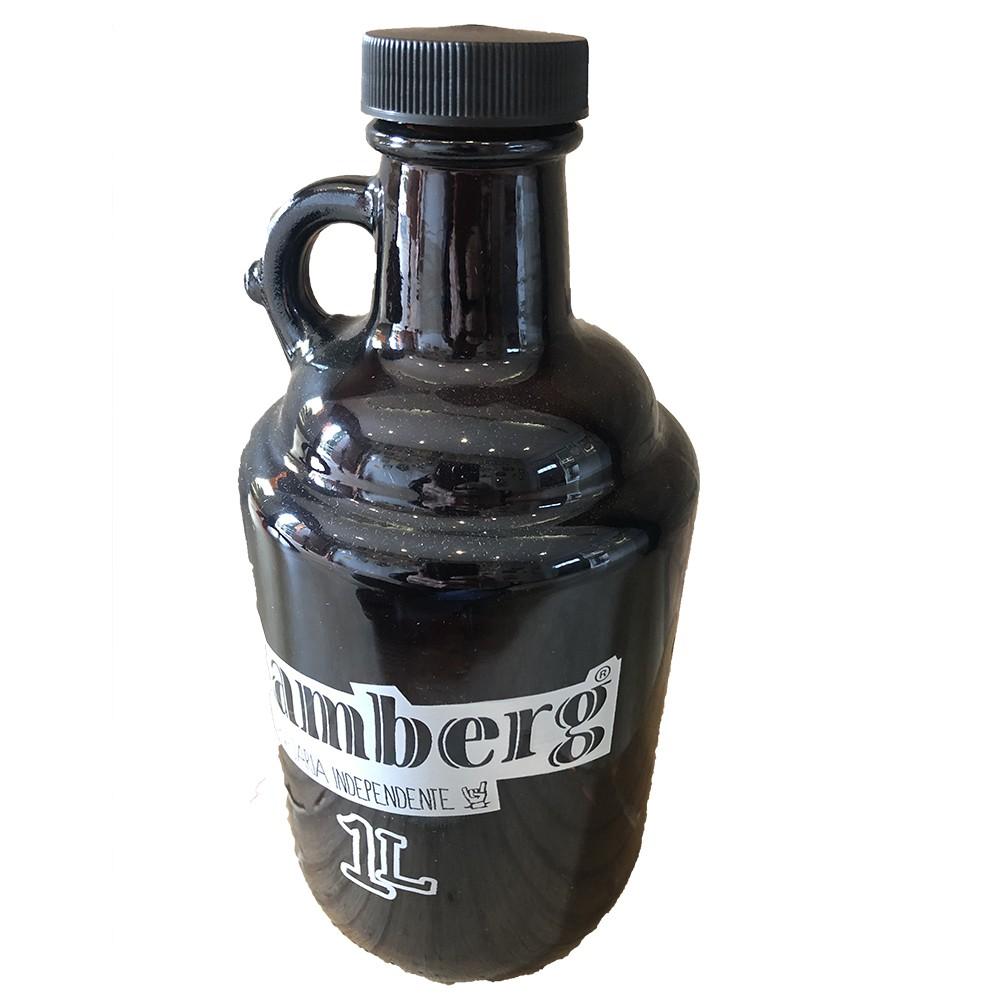 Growler de vidro 1,0 litro