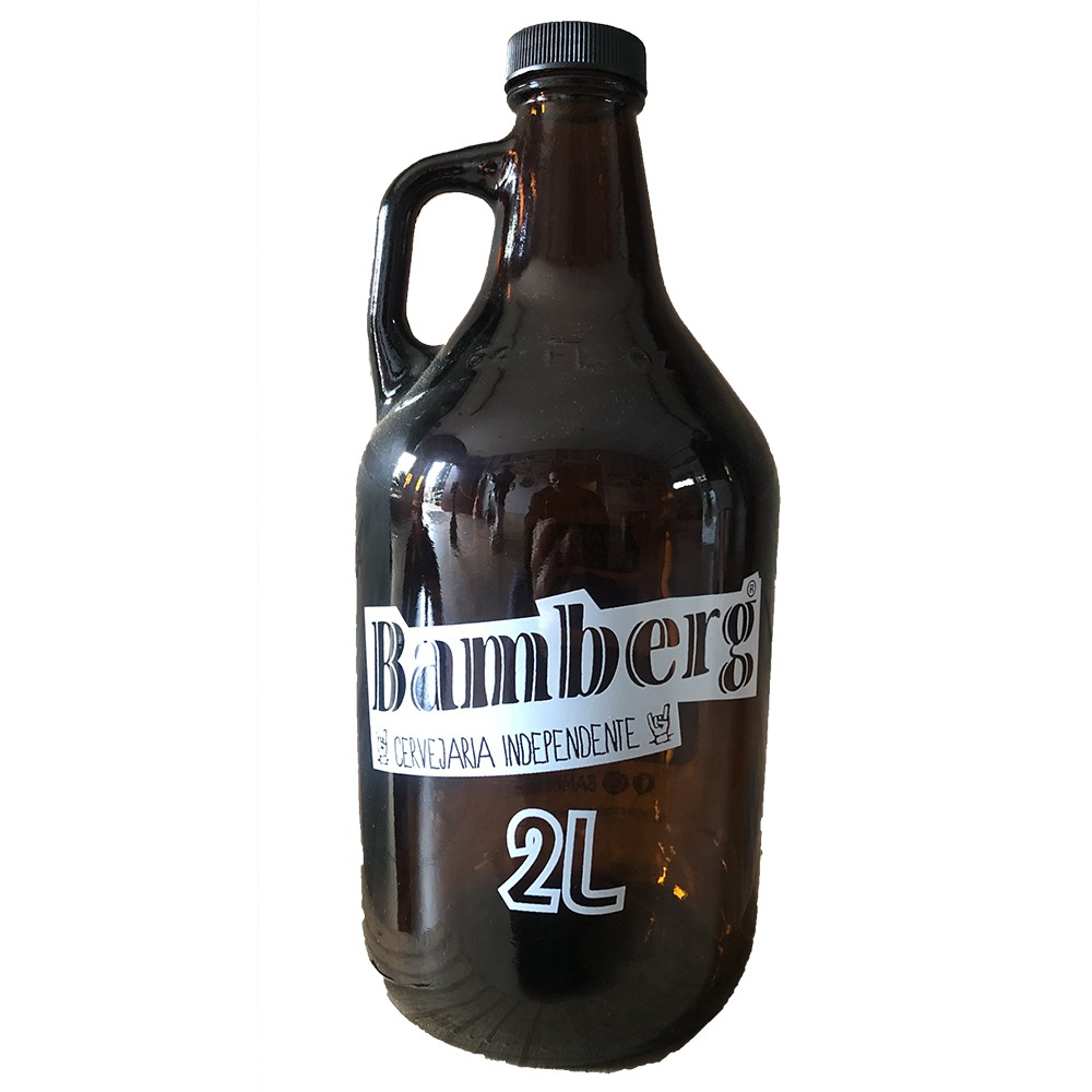 Growler de vidro 2,0 litros