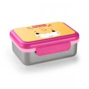 Bento Box Aço Inox Hot & Cold (Rosa) - Fisher-Price