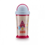 Copo Playful Glow In The Dark 240ml (Rosa Pink) - Fisher-Price