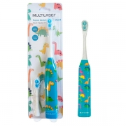Escova Dental Infantil Elétrica Kids Healt (Dinossauro) - Multilaser