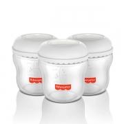 Kit 3 Frascos para Armazenar Leite Mom'S Essentials 150ml - Fisher-Price
