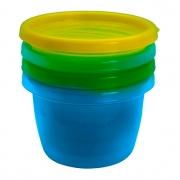 Kit com 4 Potes Multiuso 133ml (Menino) - Sana Babies