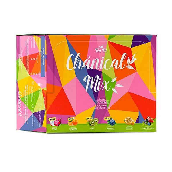 Chánical Mix de 6 Sabores (90 Sachês)  - Tea Fit