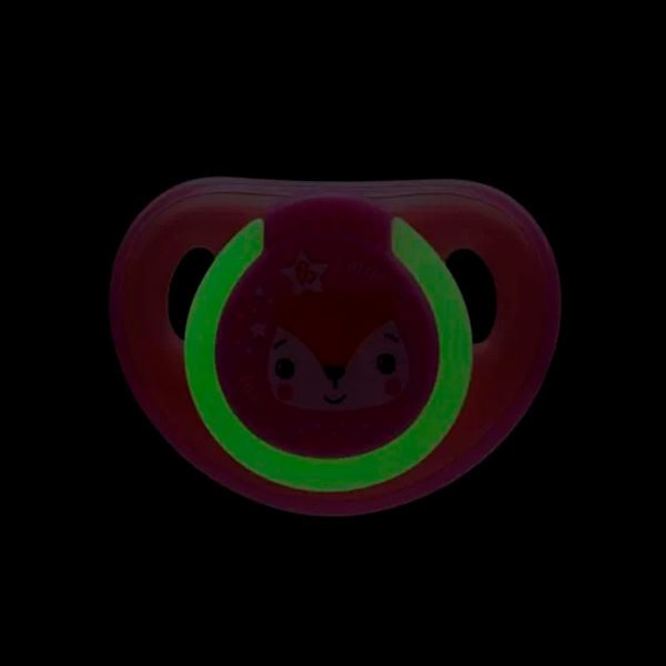 Chupeta First Moments Glow Tam. 2 (Rosa) Com Case Esterilizador - Fisher-Price