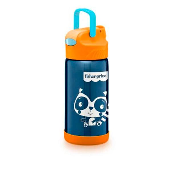 Copo Térmico Aço Inox Hot Cold 400ml (Azul) - Fisher-Price