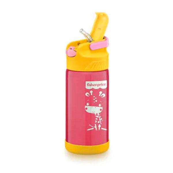 Copo Térmico Aço Inox Hot Cold 400ml (Rosa) - Fisher-Price