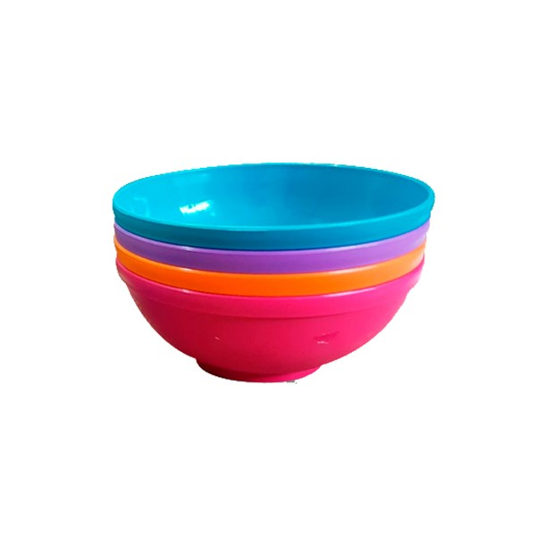 Kit com 4 potes Bowls 500 ml MA - Sana Babies