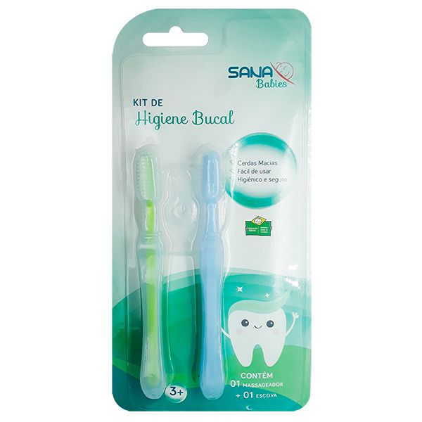 Kit Higiene Bucal - Sana Babies