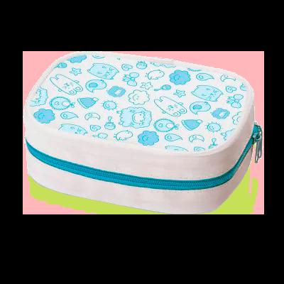Kit Higiene Infantil (Azul) - Multikids Baby